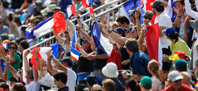 Supporters de l'équipe de France