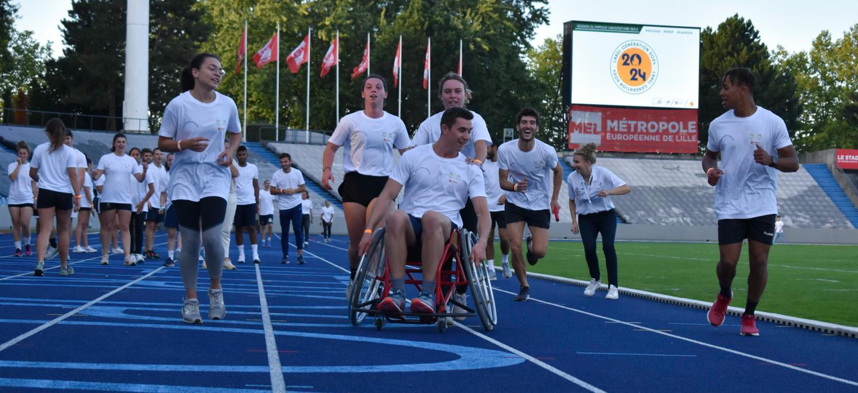 Course avec fauteuil participants SOU