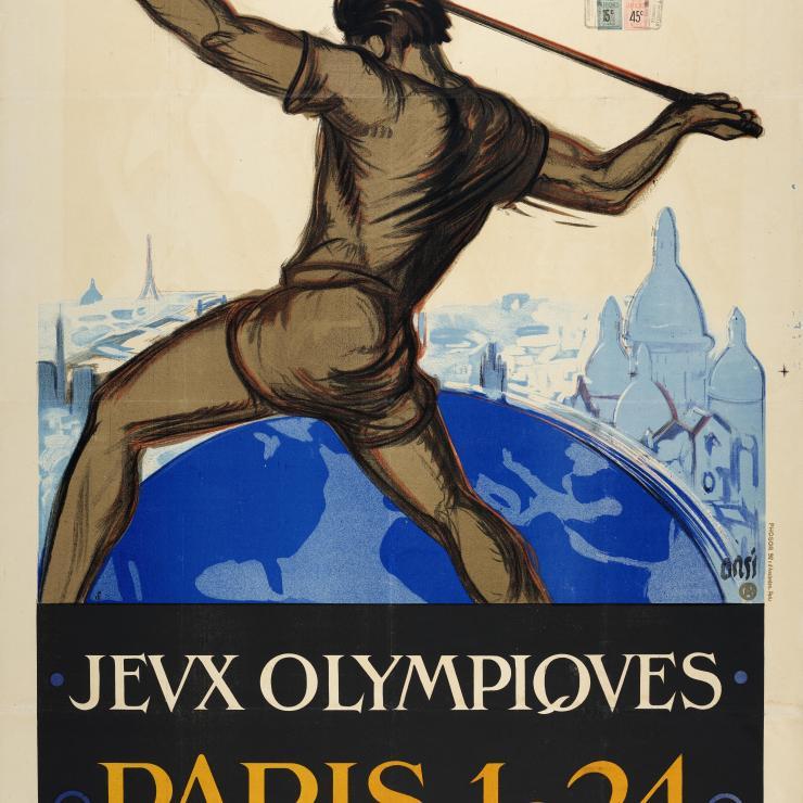 Affiche JO Paris 1924