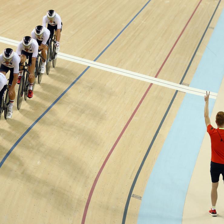 Cyclisme sur piste par équipe