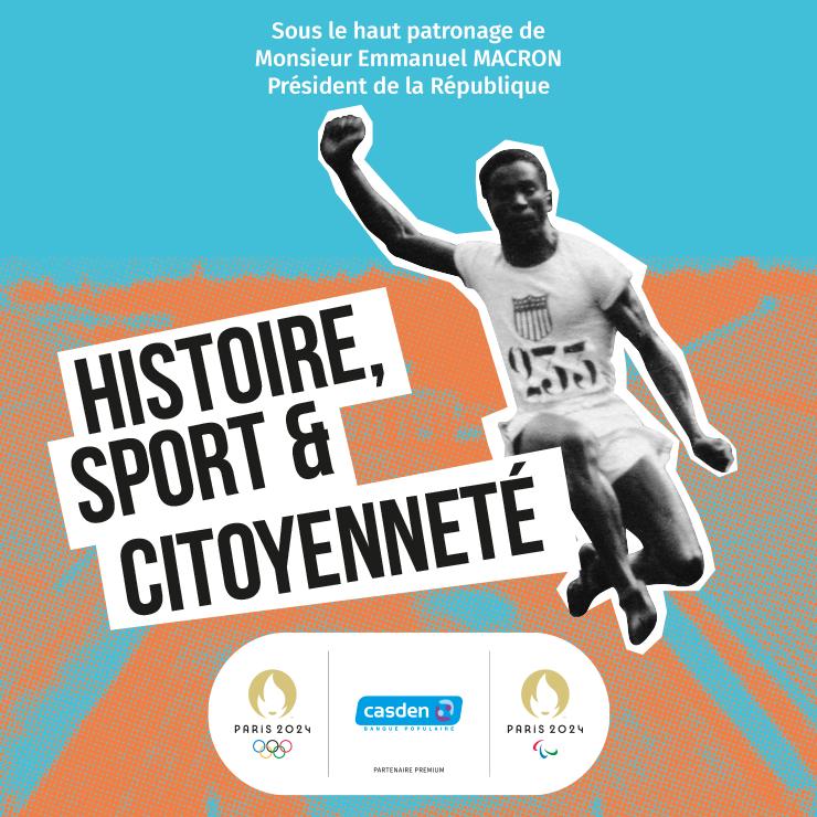 Affiche Exposition Histoire, Sport et Citoyenneté