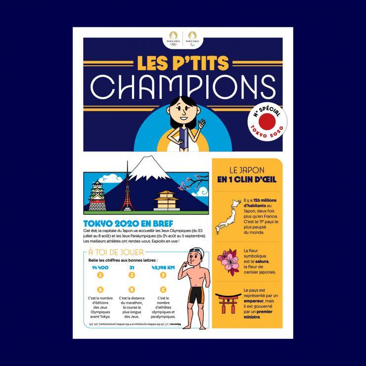 Une Les ptits champions Tokyo