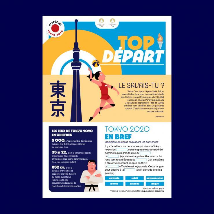 Une Top Départ Tokyo