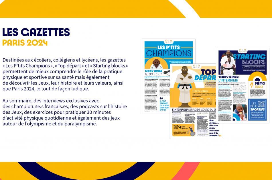 Gazettes Paris 2024