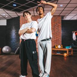 Bgirl Kami et Bboy Lagaet